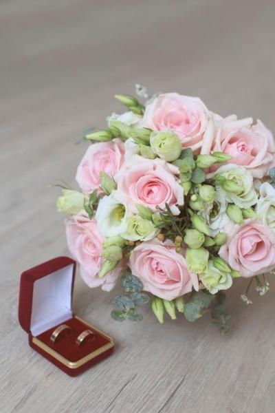 Свадебный букет «изящный»