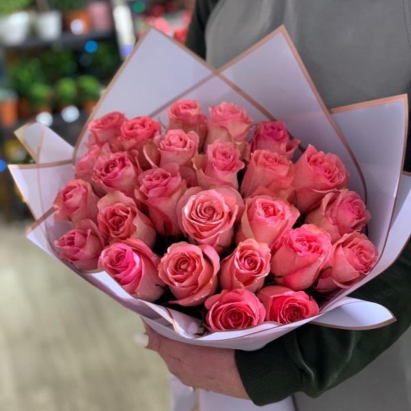 Букет из 25 роз «очарование»