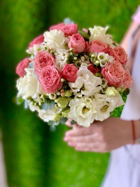 Свадебный букет «яркий праздник»