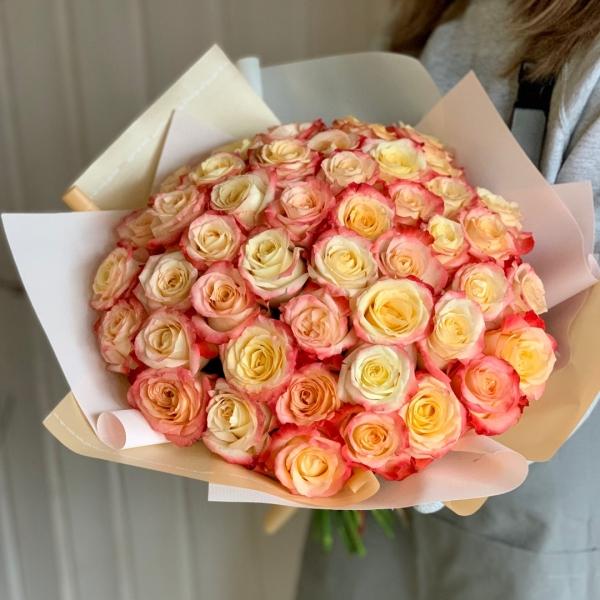 Букет «нежный» из 51 Розы