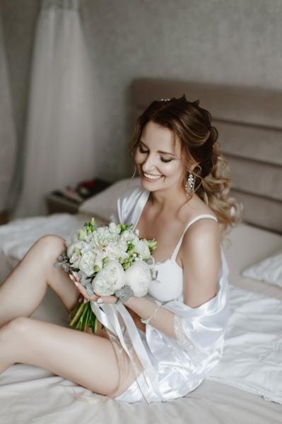 Свадебный букет «нежное облако»