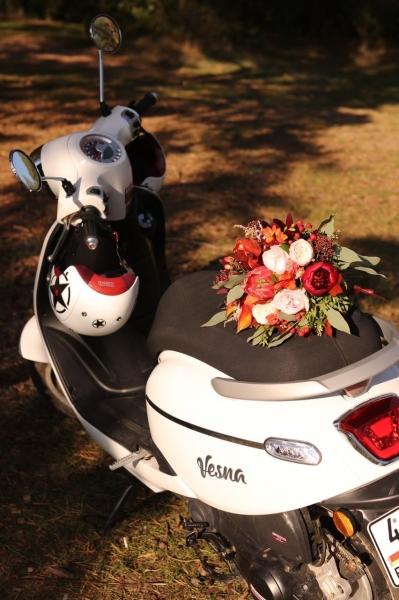 Свадебный букет «яркий день»
