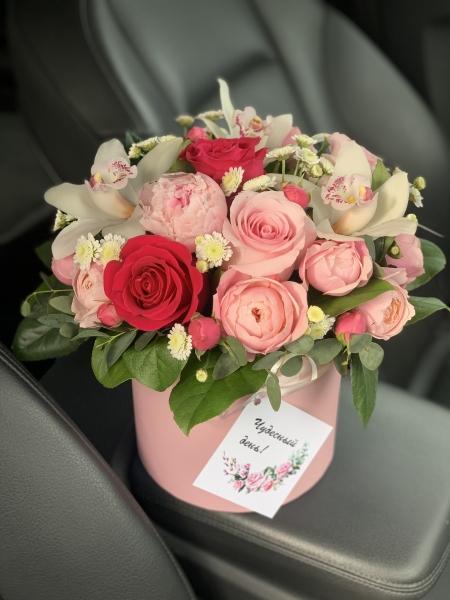 Коробочка «розовые мечты»