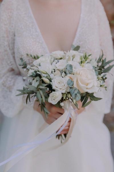 Свадебный букет «нежное счастье»