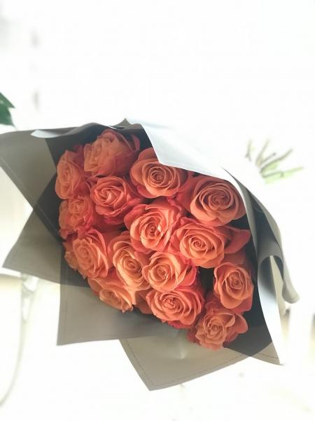 Букет из роз Оранж Краш