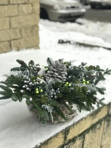 Композиция «зимний лес»