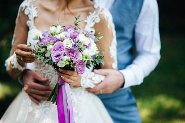 Свадебный букет 7