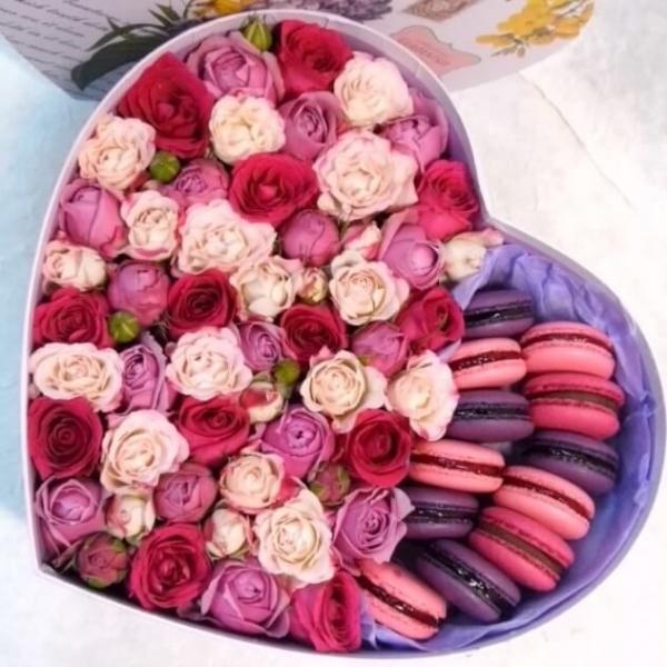Коробочка «сладкая любовь»