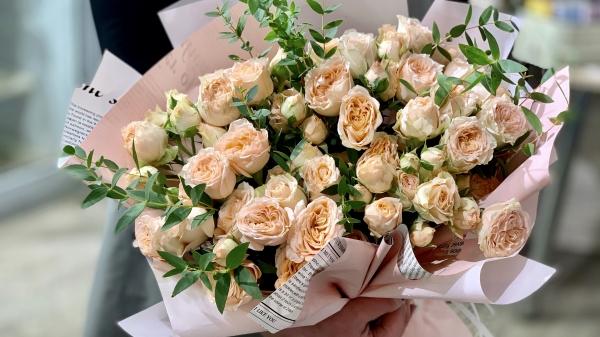 Букет из роз «Кристи»