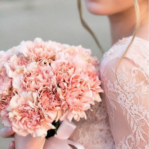 Свадебный букет «бархатный»