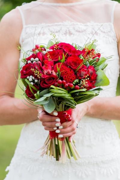 Свадебный букет 8