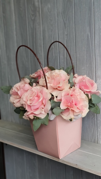Сумка с французскими розами