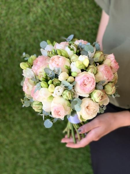 Свадебный букет «очарование Розы»