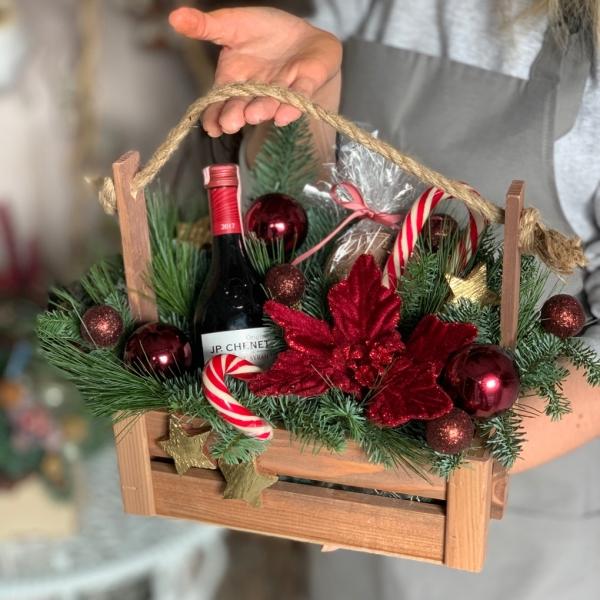 Ящик «новогодний сюрприз»