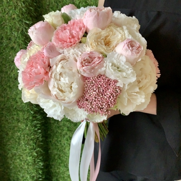 Свадебный букет «нежнее нежного»