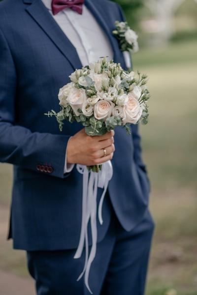Свадебный букет «нежность любви»