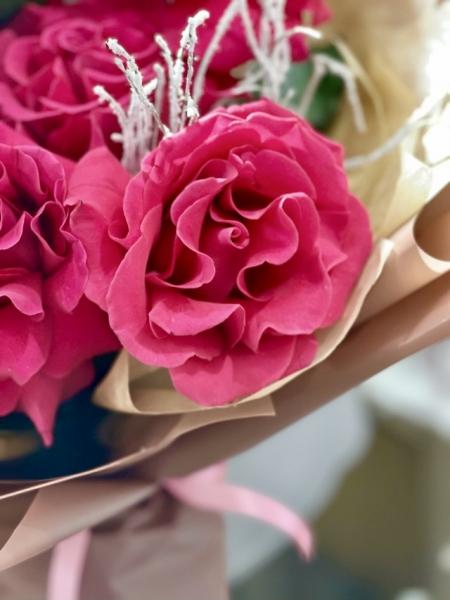 Французские розы «цериз»