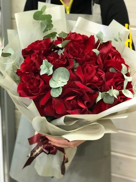 Французские розы «Бордо»