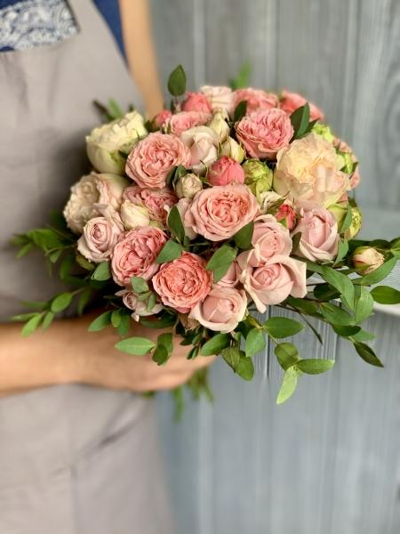 Свадебный букет «очарование»