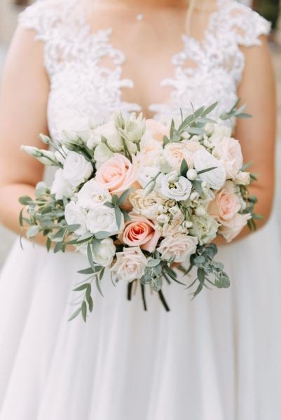 Свадебный букет «очарование нежности»